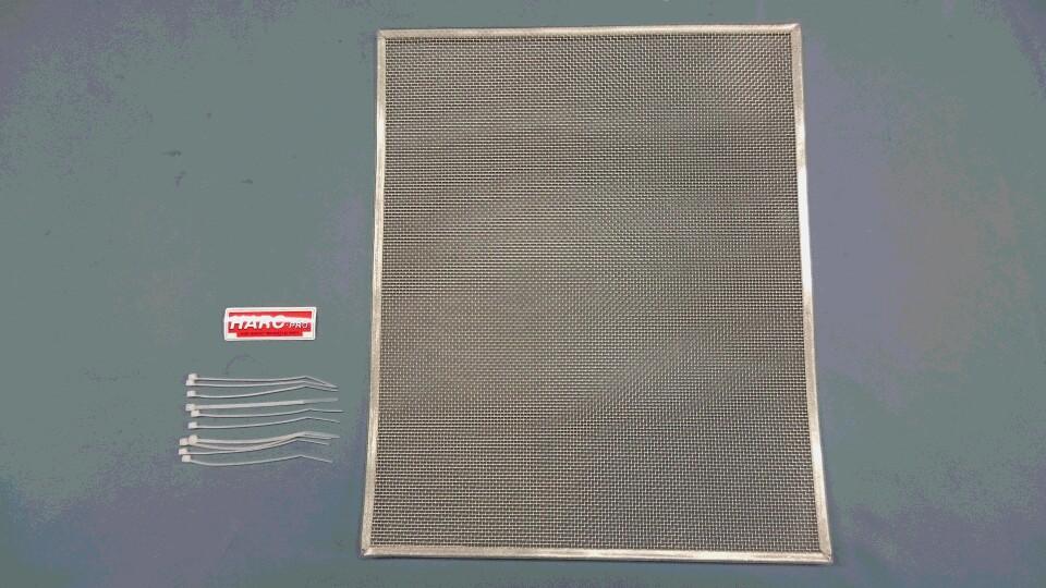 07~CBR600RR ラジエターコアガード(HRC KIT ラジエター用)